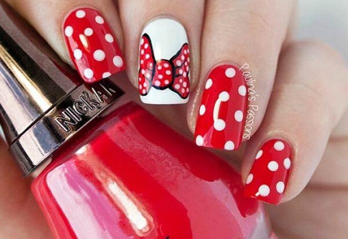 21 Super Cute Disney Nail Art Designs Stayglam
