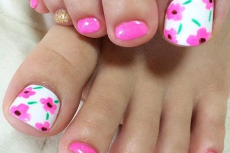 Flower Nail Art Designs For Toes Best Wild Flowers Wild Flowers