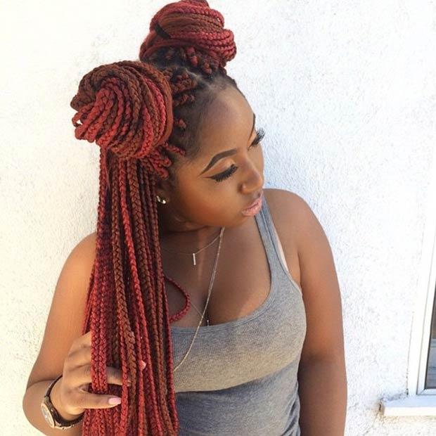 50 Box Braids Hairstyles That Turn Heads StayGlam
