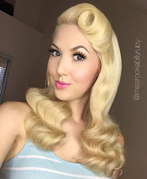 21 Pin Up Hairstyles That Are Hot Right Now Page 2 Of 2