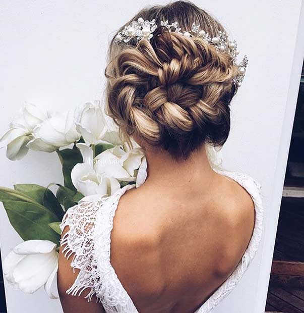 35 Gorgeous Updos For Bridesmaids StayGlam Page 2