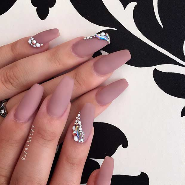 25 Fun Ways to Wear Ballerina Nails - crazyforus