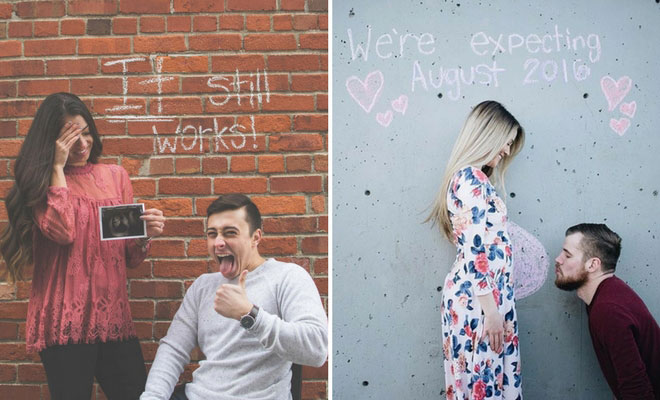 41 Cute And Creative Pregnancy Announcement Ideas Stayglam