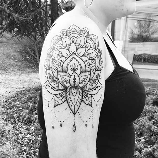 21 Trendy Mandala Tattoo Ideas for Women , crazyforus