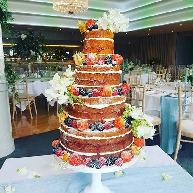 11 More Sweet And Stunning Summer Wedding Cakes