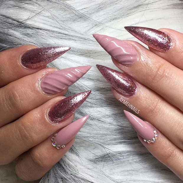 10 Bold Pointy Nails to Try