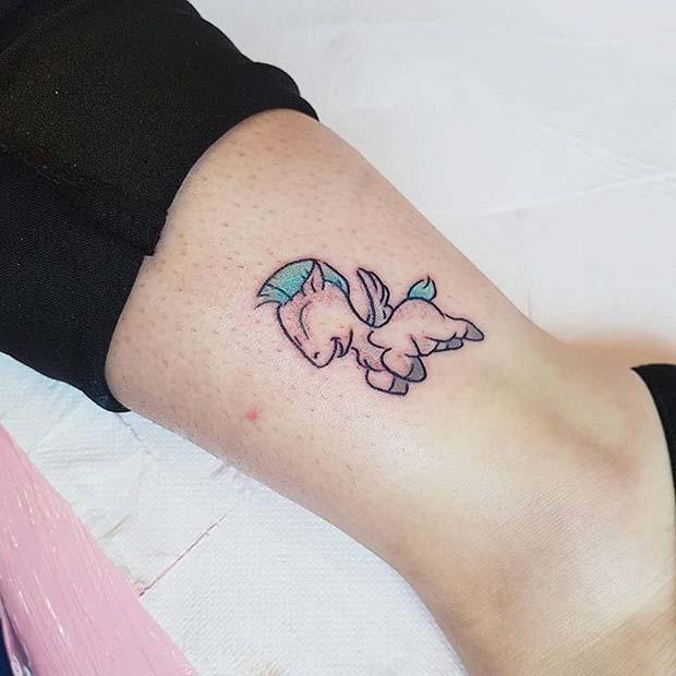 333e1f454 12 Cute and Creative Small Disney Tattoo Ideas - crazyforus