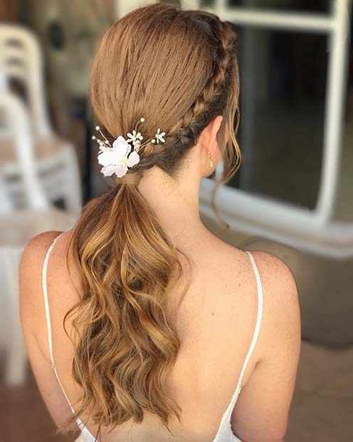 Ponytail for a Special Occasion