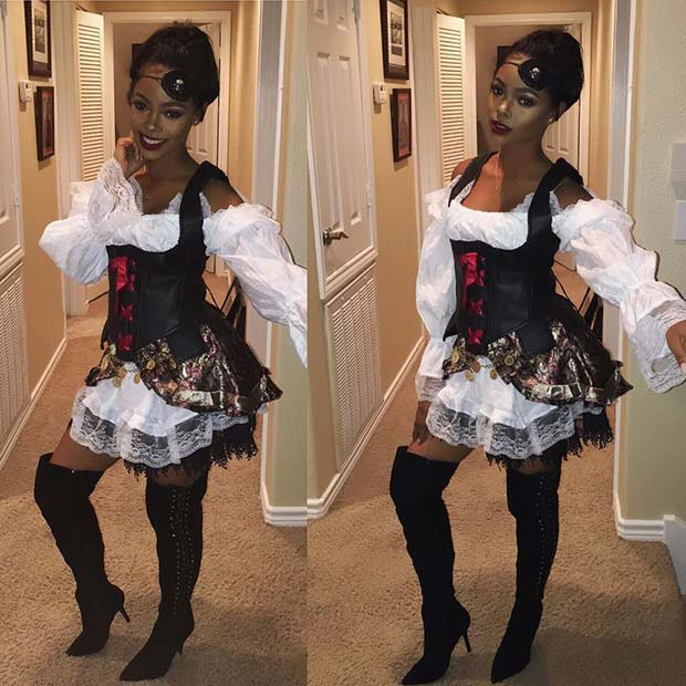 Pirate Costume for Halloween
