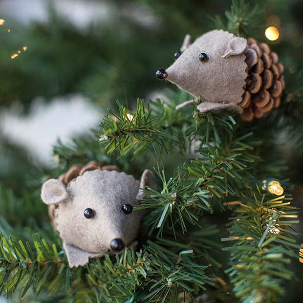 21 Easy DIY Christmas Ornaments