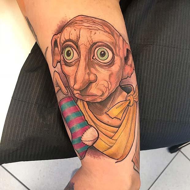 Dobby Tattoo Idea