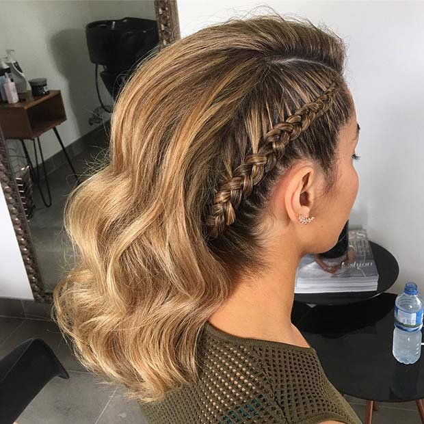 Image Result For Prom Hairstyles Short Hair