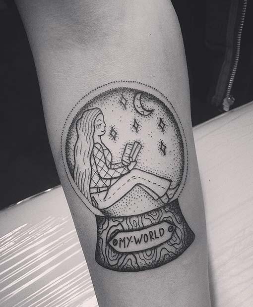 My World Tattoo Idea