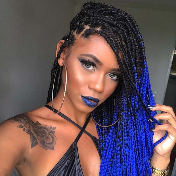 Image result for colur braids styles