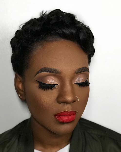 Classic Makeup Look for Prom