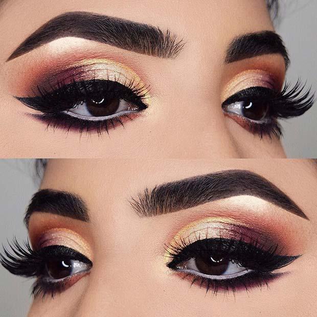 Stunning Prom Makeup Idea