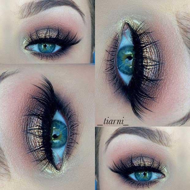 Elegant Summer Eye Makeup Look