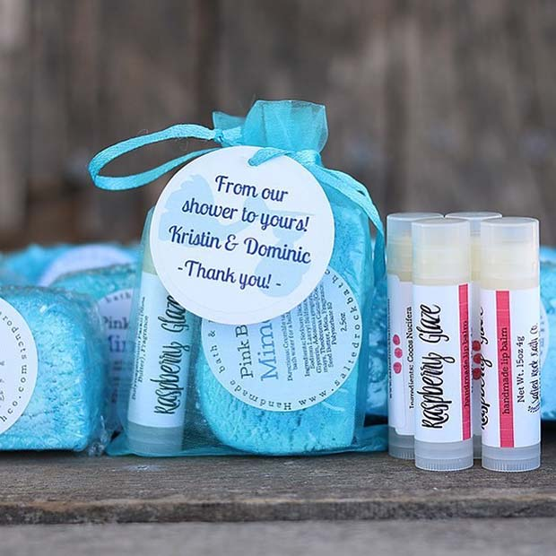 Natural Cosmetic - Baby Shower Favor Idea