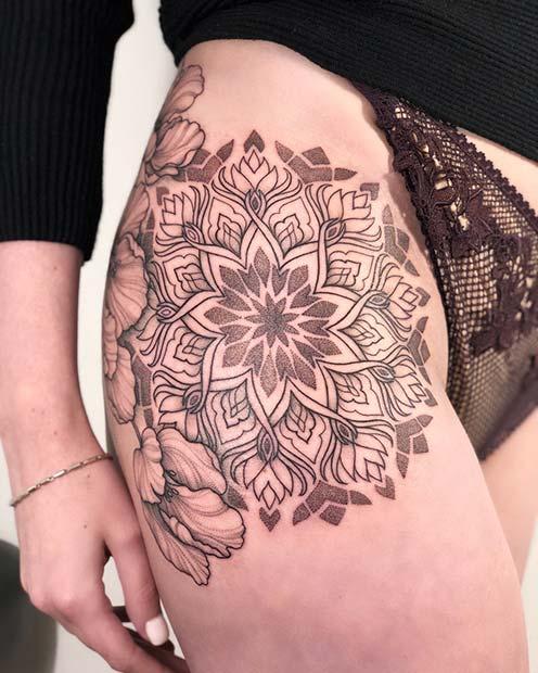 Trendy Hip Tattoos That Are Actually Badass Crazyforus