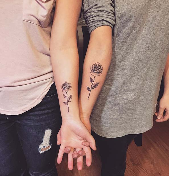 23 Cool Sibling Tattoos You'll Want to Get Right Now