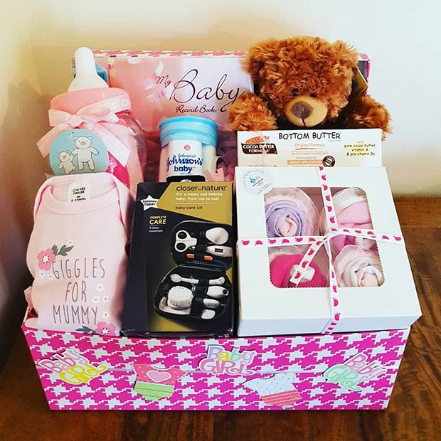 DIY Baby Shower Gift Set
