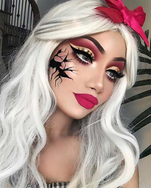 41 Unique Halloween Makeup Ideas from Instagram | StayGlam