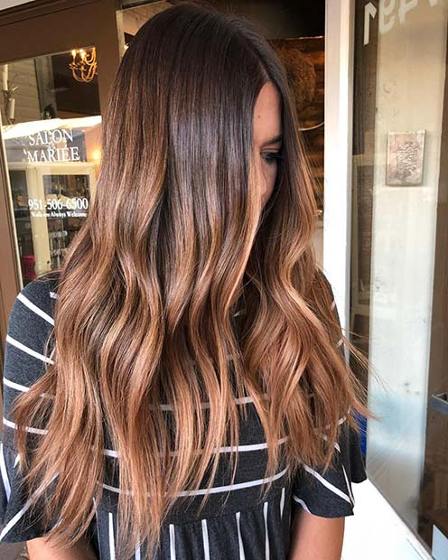 Strawberry Blonde for Brunettes