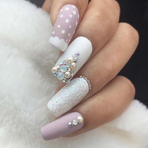 Elegant Holiday Nails