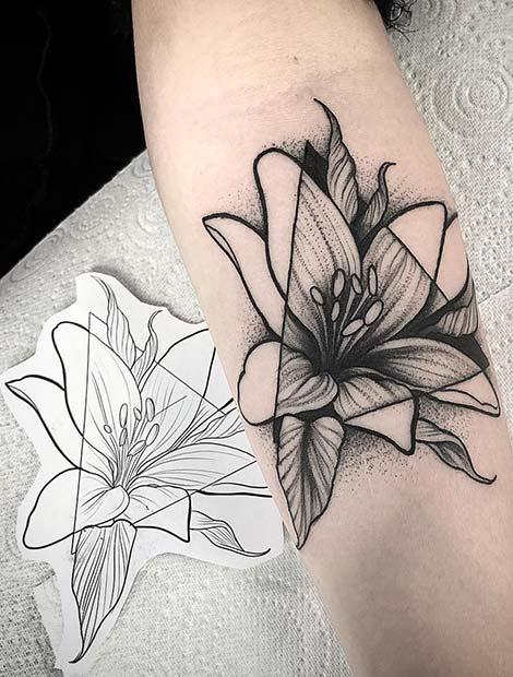 Pretty Lily Tattoo Ideas For Women Crazyforus