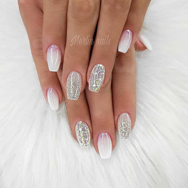 Elegant French Ombre Nails