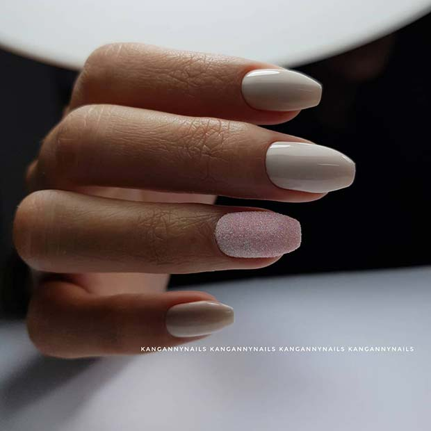 Elegant Nail Idea for Short Nails