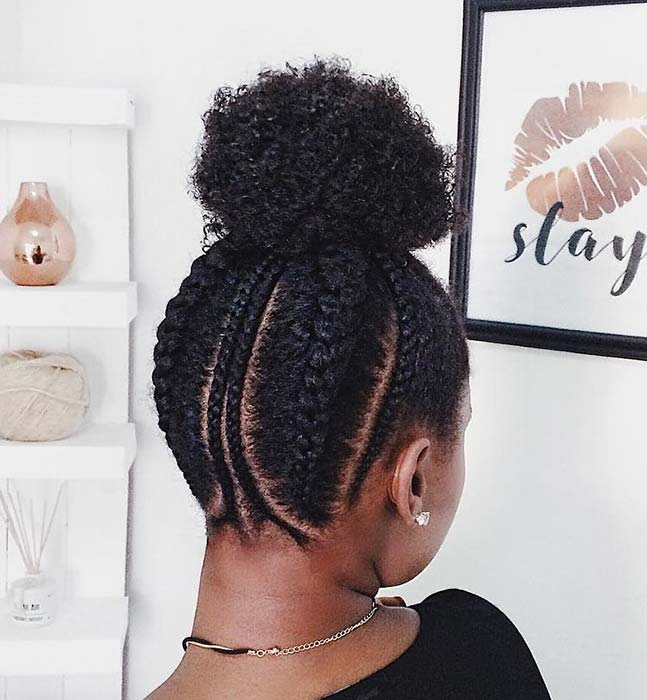25 Beautiful Natural Hairstyles You Can Wear Anywhere - crazyforus