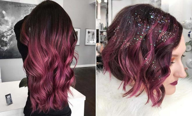 43 Burgundy Hair Color Ideas And Styles For 2019 StayGlam