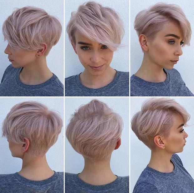 Short Haircuts for Women to Copy in 2019 , crazyforus