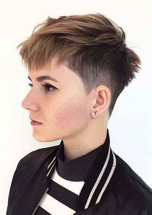 Modern Short Haircut for Women