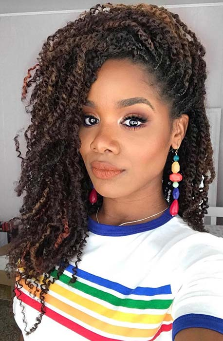 73503c0d7c Blonde Passion Twists Hairstyle - Ala Model Kini