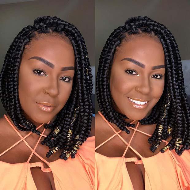 Short Box Braid Hairstyles Perfect For Warm Weather Crazyforus