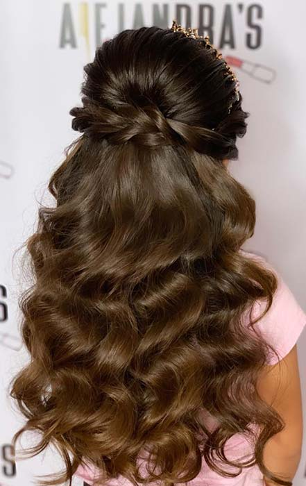 11 Quinceanera Hairstyles For Your Dream Day Crazyforus