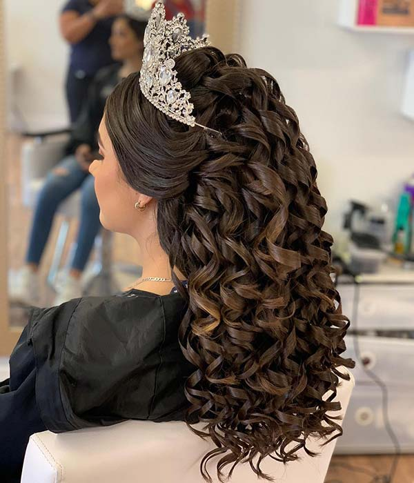 Best Quinceanera Hairstyles For Your Big Day Crazyforus