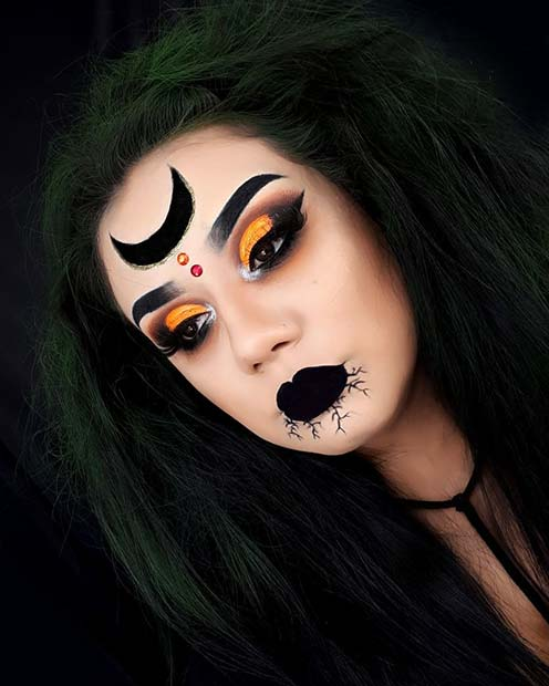 43 Best Witch Makeup Ideas For