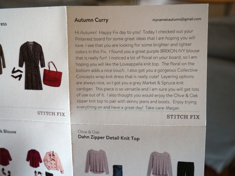 This is a review of my Stitchfix boxl that I received in January 2017. | Stay gold Autumn