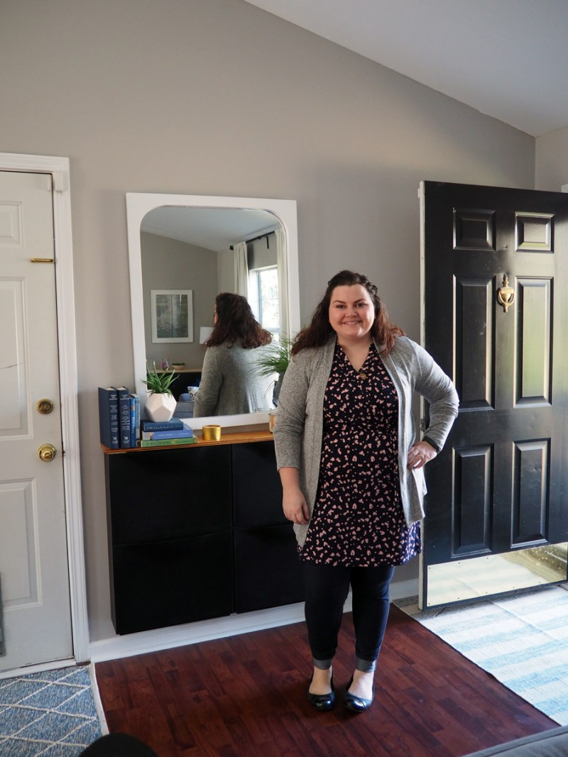 This is the adorable sweater and tunic/dress that I received in my January 2017 Stitch Fix box.