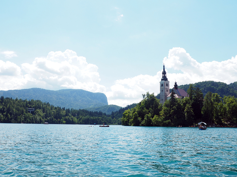 The island on Lake Bled is small, but has a surprisingly large amount of culture to experience. | via Stay gold Autumn