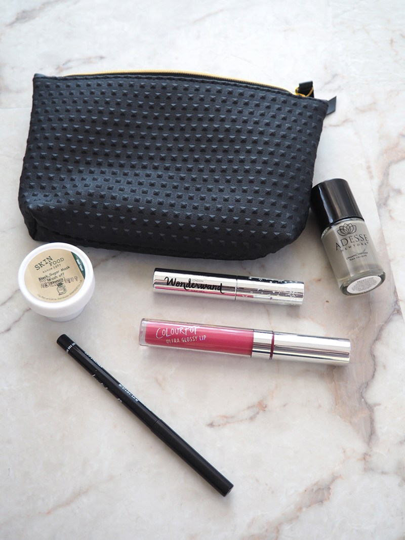 my September IPSY glambag items review