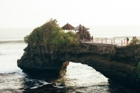 Tanah Lot temple, travel to Bali