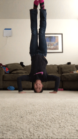 inversion pose/headstand