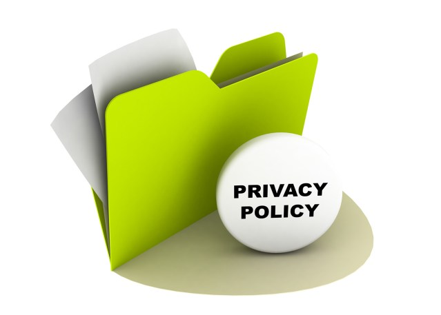 Image of content in privacy police