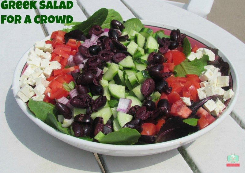 Greek Salad Recipe Deconstructed Feed A Crowd Close To Home