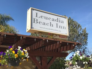 Leucadia Beach Inn Sign