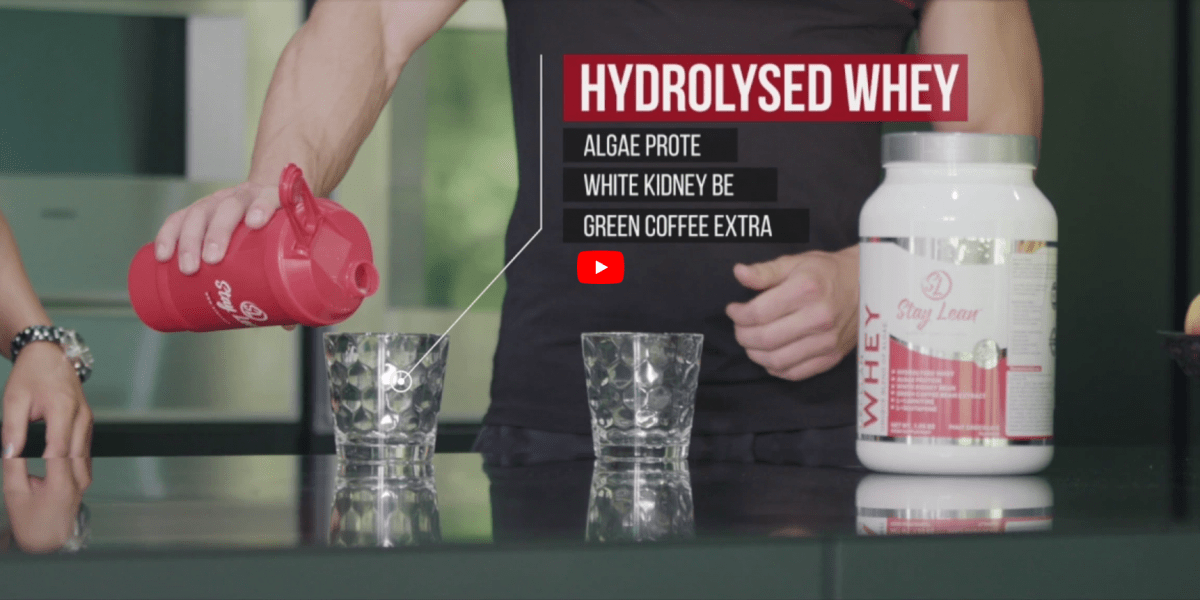 STAY LEAN WHEY [VIDEO]